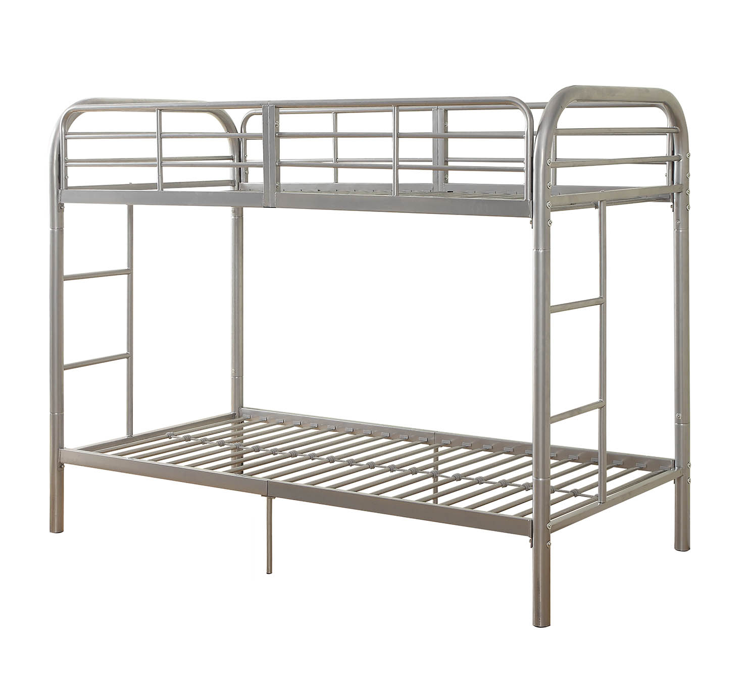 ACME Thomas Twin Over Twin Metal Bunk Bed, Black