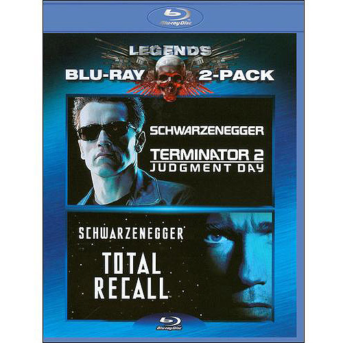 Terminator 2: Judgement Day / Total Recall (Blu-ray) (Widescreen)
