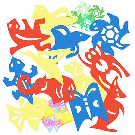 Roylco Tessellations Animal Templates, Pack of 12