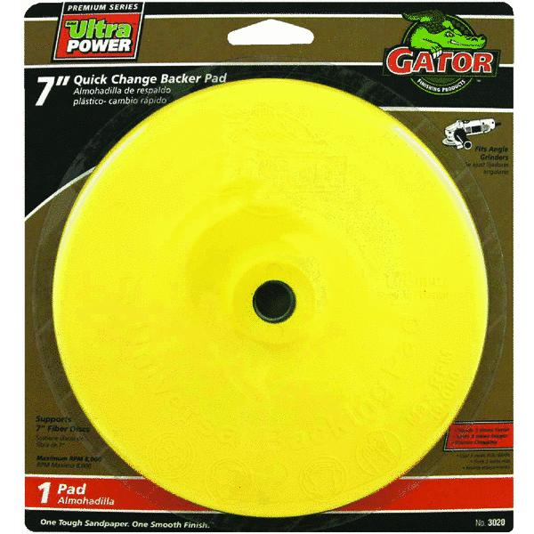 Gator Quick Change Angle Grinder Backing Pad