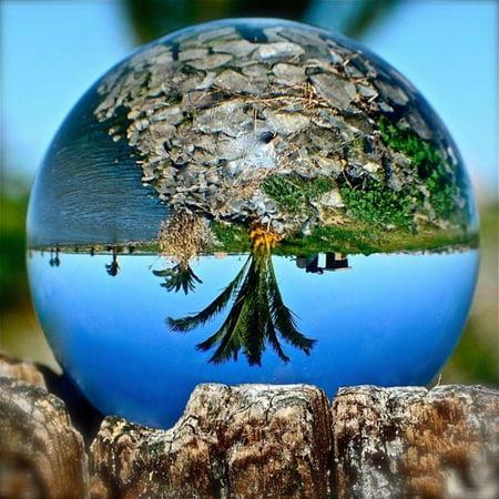 40 120mm K5 Crystal Ball Photography Lensball Clear Lens Ball Photo