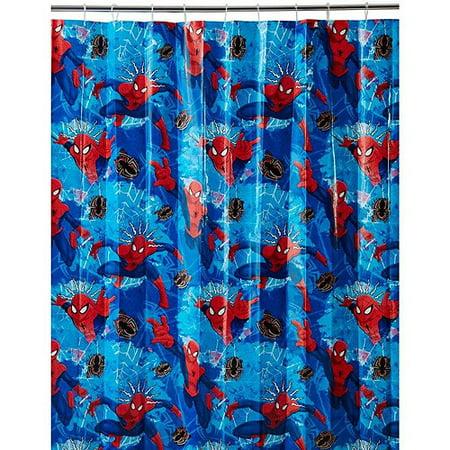 Marvel Spider Man Shower Curtain 1 Each