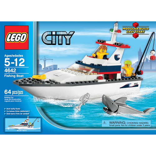 LEGO City Fishing Boat