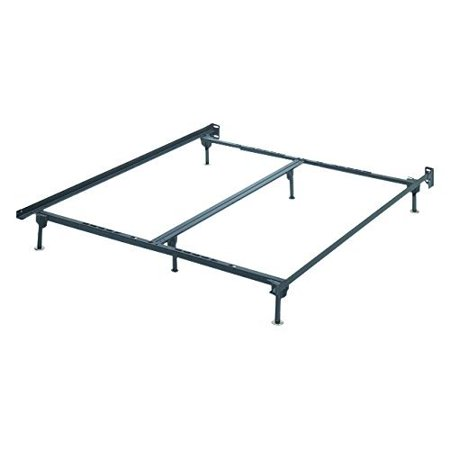 Ashley Furniture Signature Design - Frames and Rails Bolt on Bed Frame Queen/King/California King Size - Contemporary - Black ()