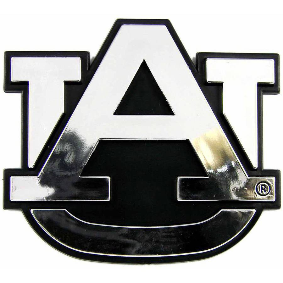 NCAA Auburn Chrome Emblem - Generic Brand