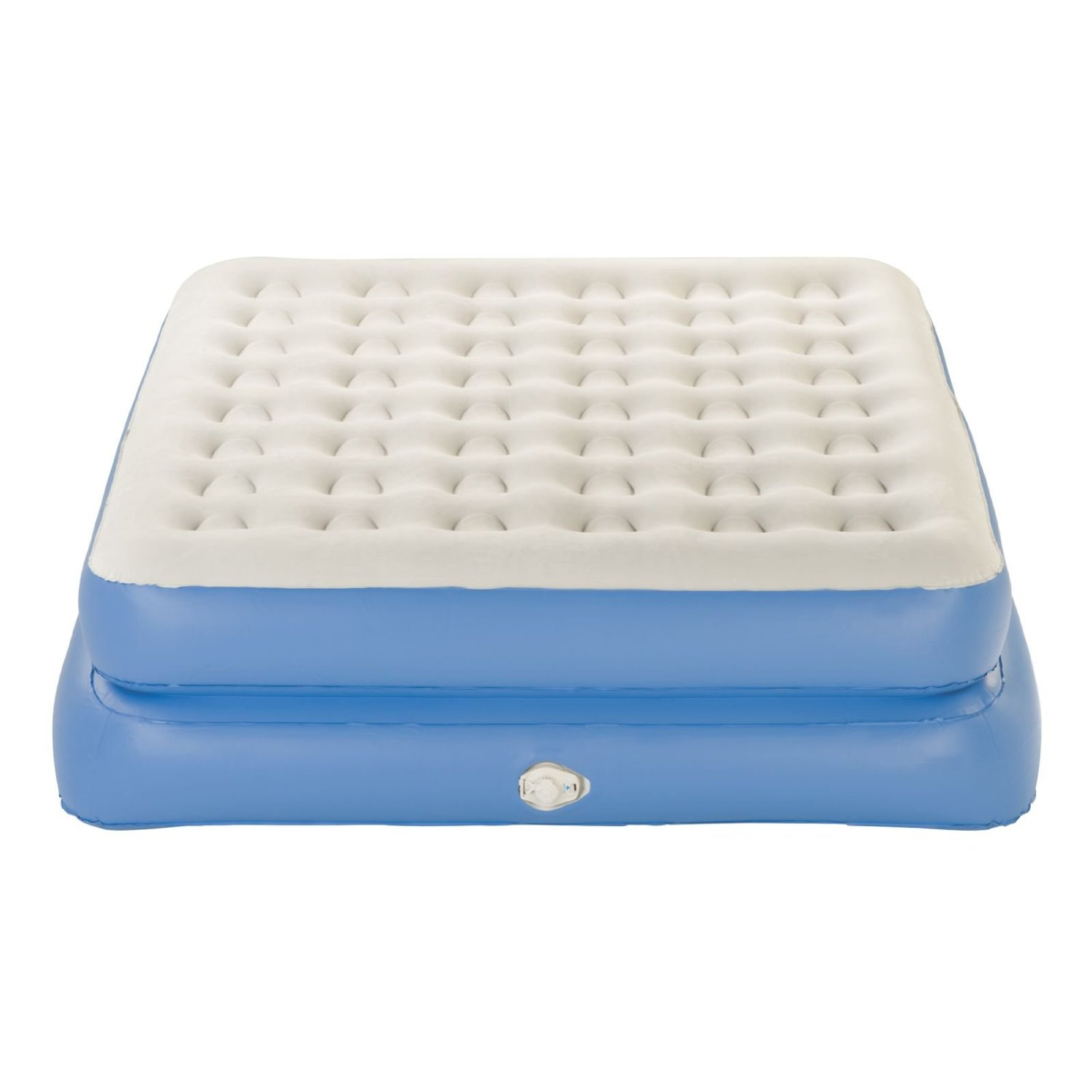 aerobed double high air bed combo - walmart