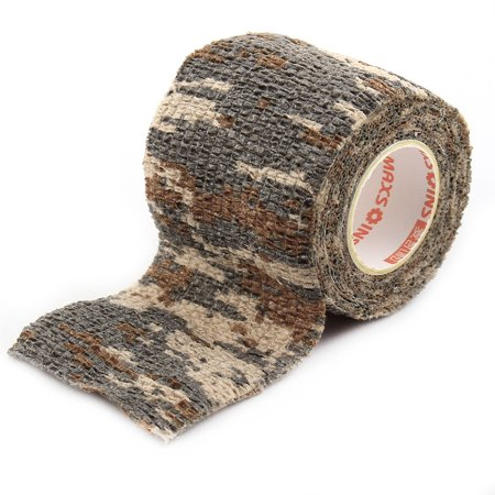 Athletic Sports Gym Camouflage Stretch Muscle Care Support Tape Wrap Bandage #3