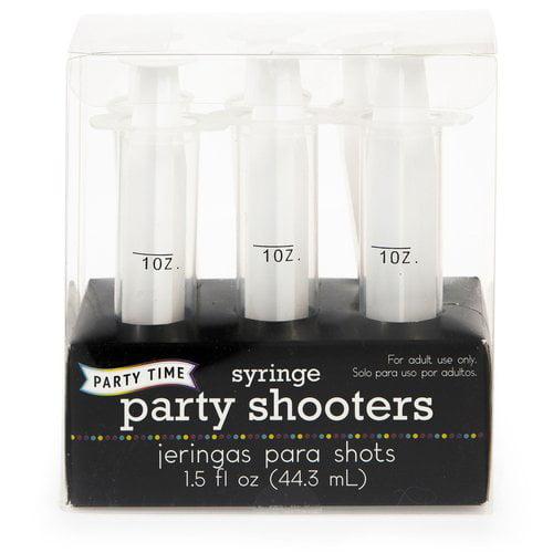 Clear Plastic Jello Shot Syringes