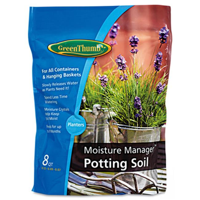 Scotts Growing Media 143557 8 qt Green Thumb Moisture Mix