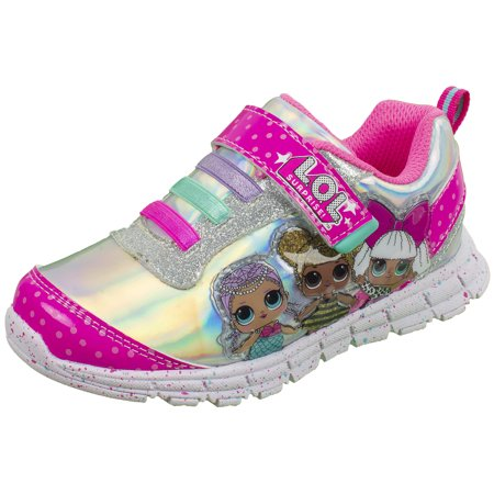 Shoes That Light Up (L.O.L Surprise Girls Sneakers, Light Up Athletic Sneaker, MC Swag and Rocker, Pink, Girls Size)