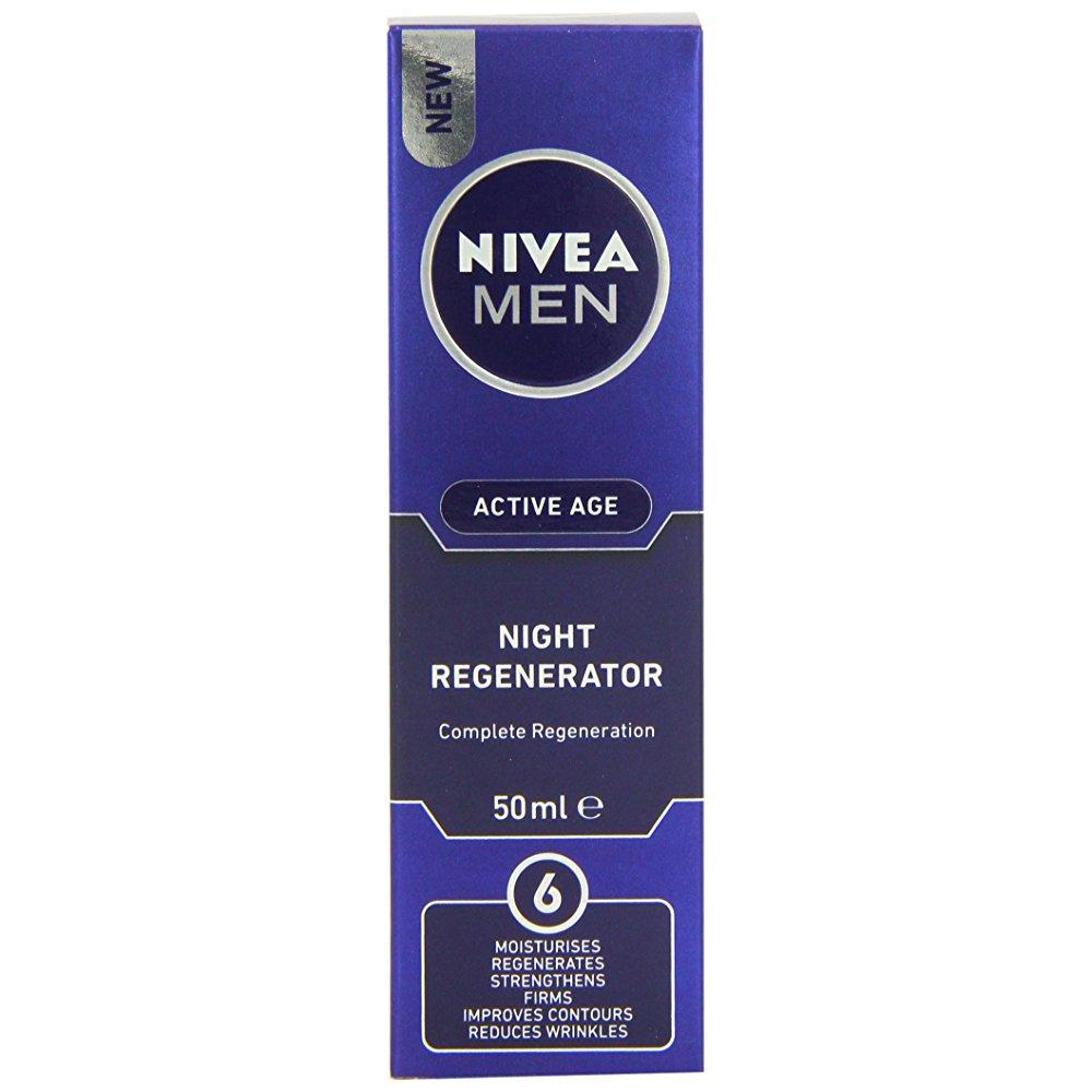 nivea men active age night regenerator (50ml) - Walmart.com