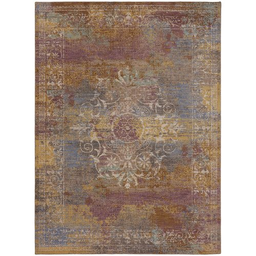 Karastan Cosmopolitan Arcadia Blue Cream Area Rug by Mohwak Home