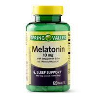 Spring Valley Melatonin Tablets, 10 mg, 120 Ct