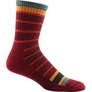 Darn Tough Vermont Via Feratta Micro Crew Cushion Sock - Men's Burgundy X-Large