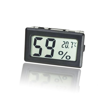 Mini LCD Digital Electronic Temperature Humidity Meter Indoor Thermometer