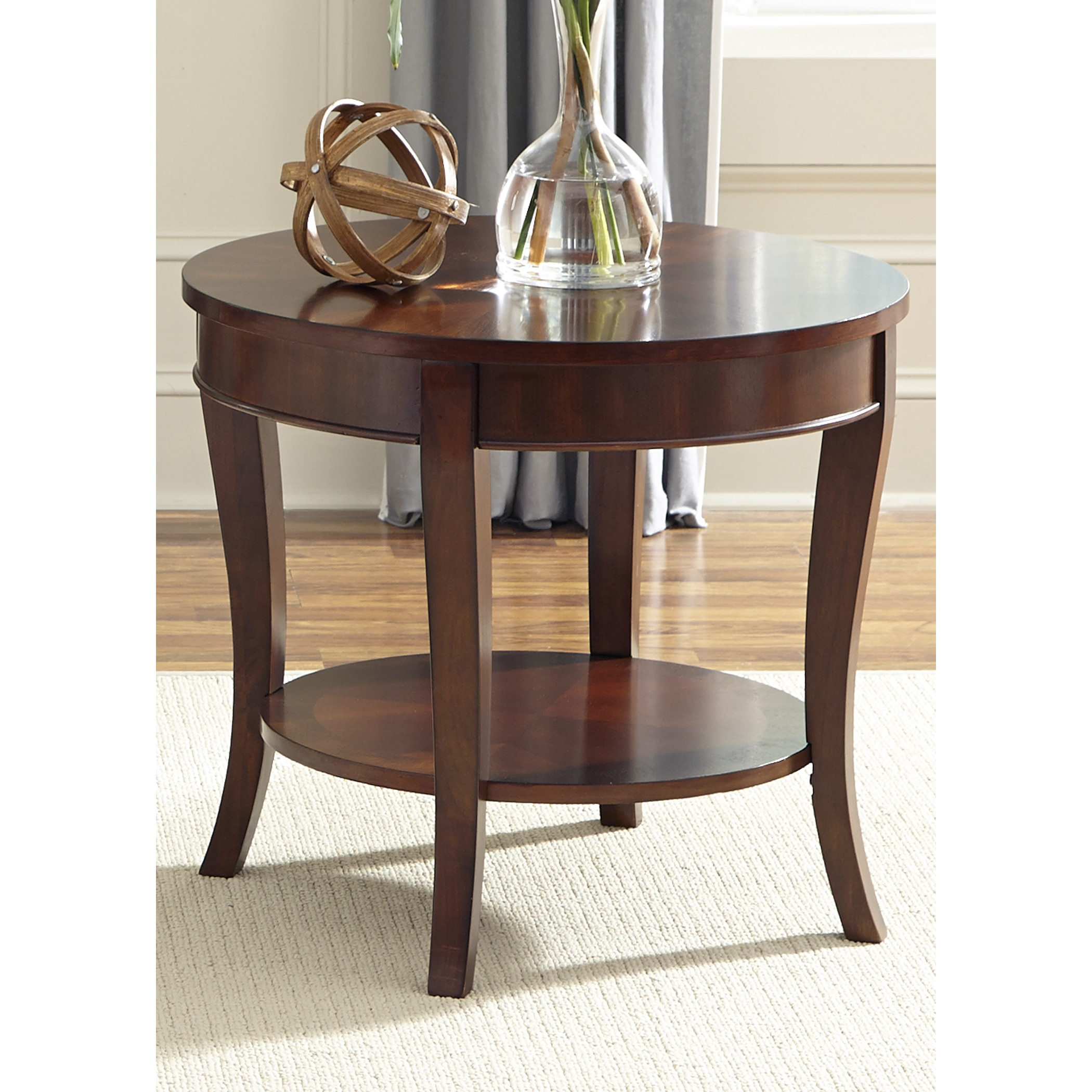 Liberty Furniture Industries Liberty Rich Cherry Round End Table