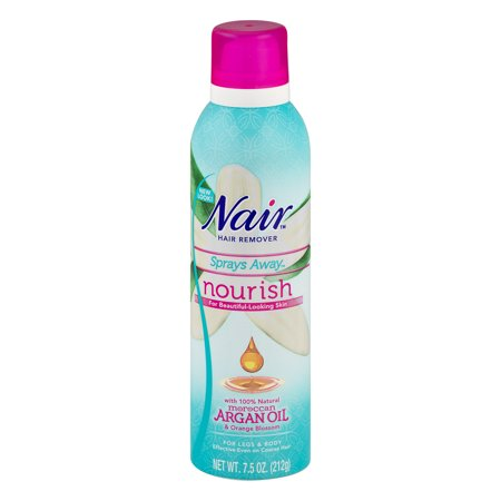 Nair Hair Remover Sprays Away Moroccan Argan Oil & Orange Blossom, 7.5