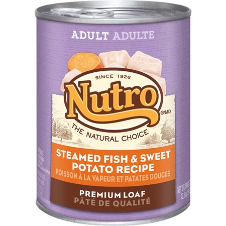Nutro Adult Dog Food Steamed Fish & Sweet Potato Recipe Premium