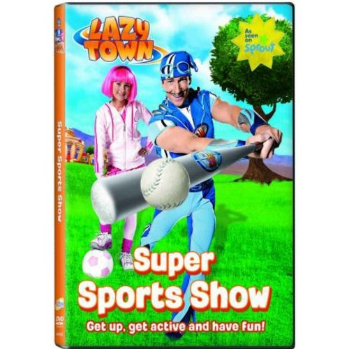 Anderson Lazytown: Super Sports Show Dvd Std Ff by Ncircle Entertainment