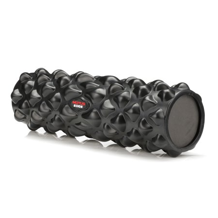 Motus Edge Foam Roller For Deep Tissue Massage  Sports Therapy  Rehab   Unique High Density Knobs Target Sore Muscles   Ideal For Crossfit  Yoga  Pilates