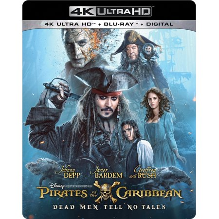 Pirates of the Caribbean: Dead Men Tell No Tales (4K Ultra HD + Blu-ray + Digital