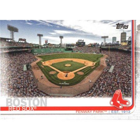 2019 Topps #160 Fenway Park Boston Red Sox Baseball Card - *GOTBASEBALLCARDS