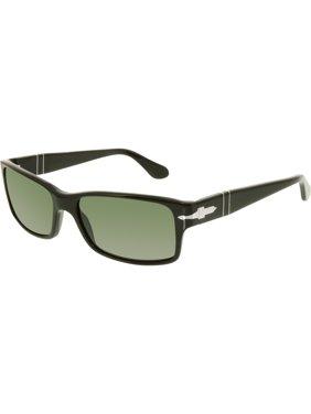 c70119e628cb5 Product Image Men s Polarized PO2803S-95 58-58 Black Rectangle Sunglasses.  Persol