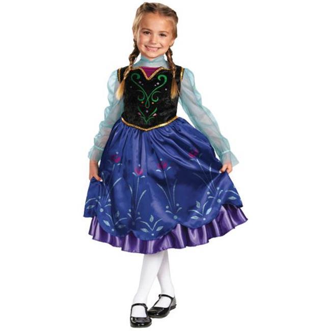 Morris Costumes DG57005L Frozen Anna Child 4-6