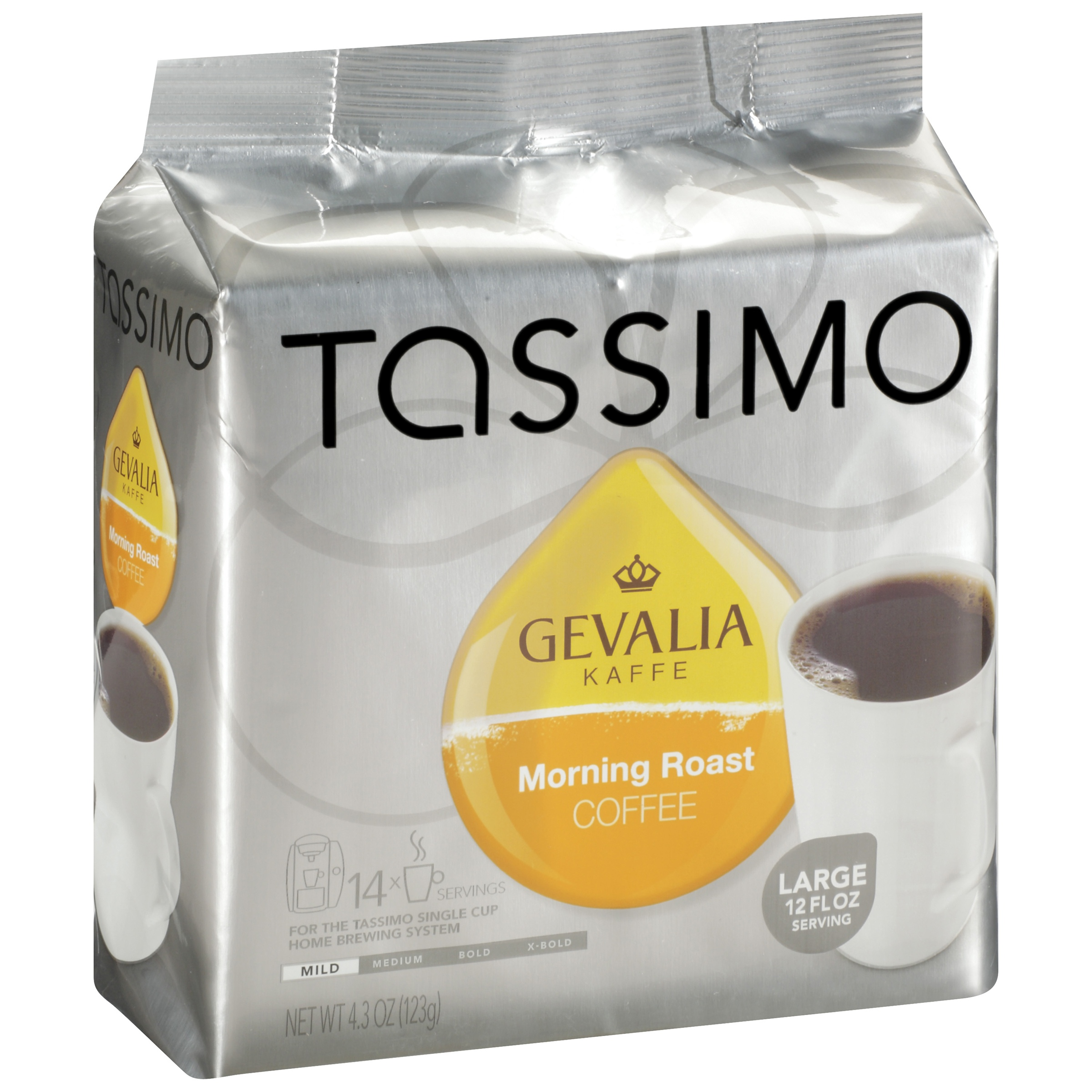 Tassimo Gevalia Morning Roast Coffee 14 count