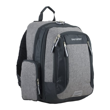 Eastsport Spacious XL Expansion Backpack, Grey