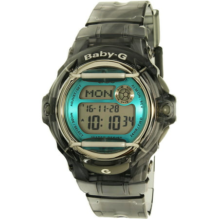 Women's Baby-G Gray Digital Sport Watch BG169R-8B