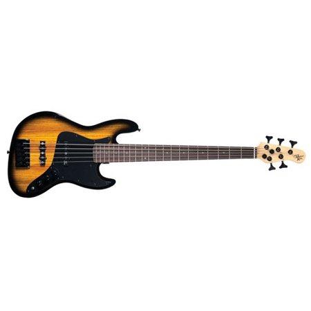 Michael Kelly Custom Collection Element 5 Zebraburst 5-String Electric Bass