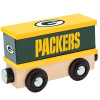 Green Bay Packers NFL Box Car Trains