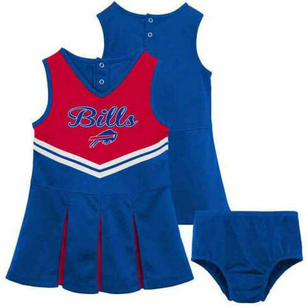 64426085c NFL - NFL Buffalo Bills Toddler Cheerleader Set - Walmart.com