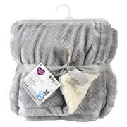 Parents Choice Royal Plush Blanket, Gray