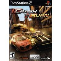 Crash N Burn - PS2 Playstation 2 (Refurbished)