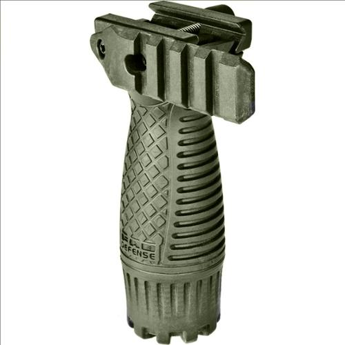 Mako Group Tactical Rubberized Stout Vertical Foregrip w/Picatinny Rail RSG-OD
