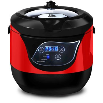 Elite Platinum EPC-55R 5.5 Quart Electric Pressure Cooker