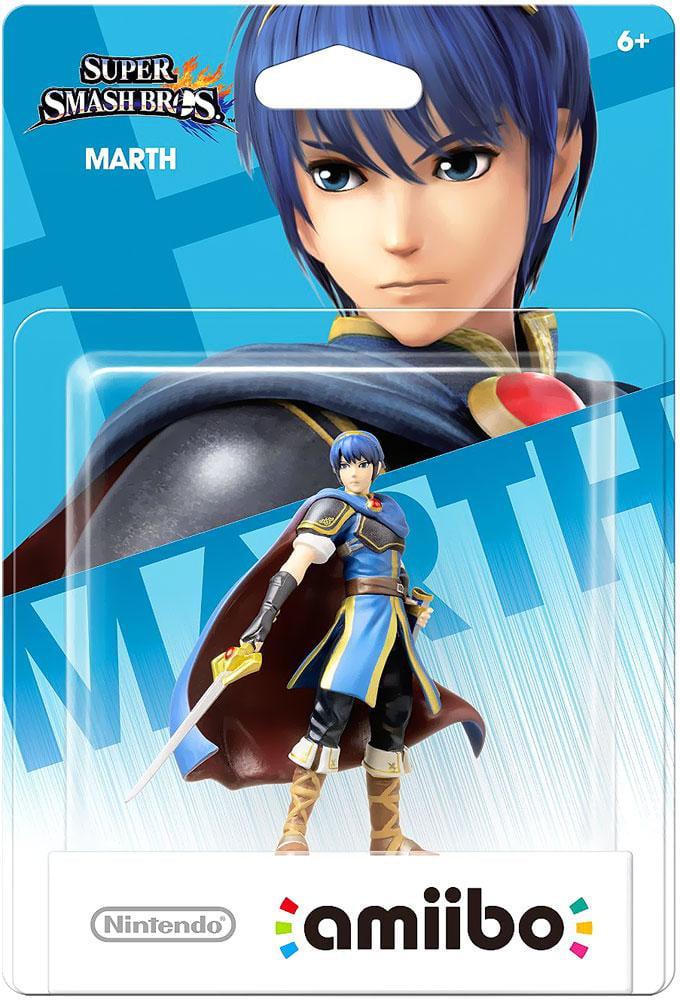 Marth Super Smash Bros Series Amiibo (Nintendo Wii U or 3DS) by Nintendo