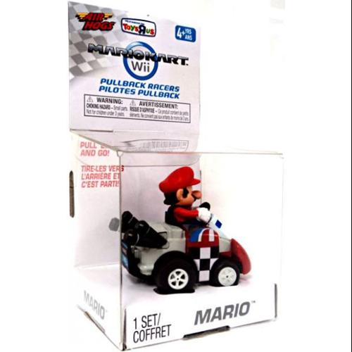 Super Mario Mario Kart Wii Air Hogs Pullback Racers Mario Exclusive Go-Kart
