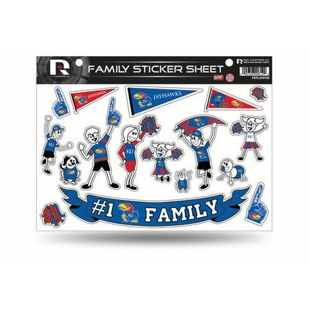 - Kansas Jayhawks Family Decal Set