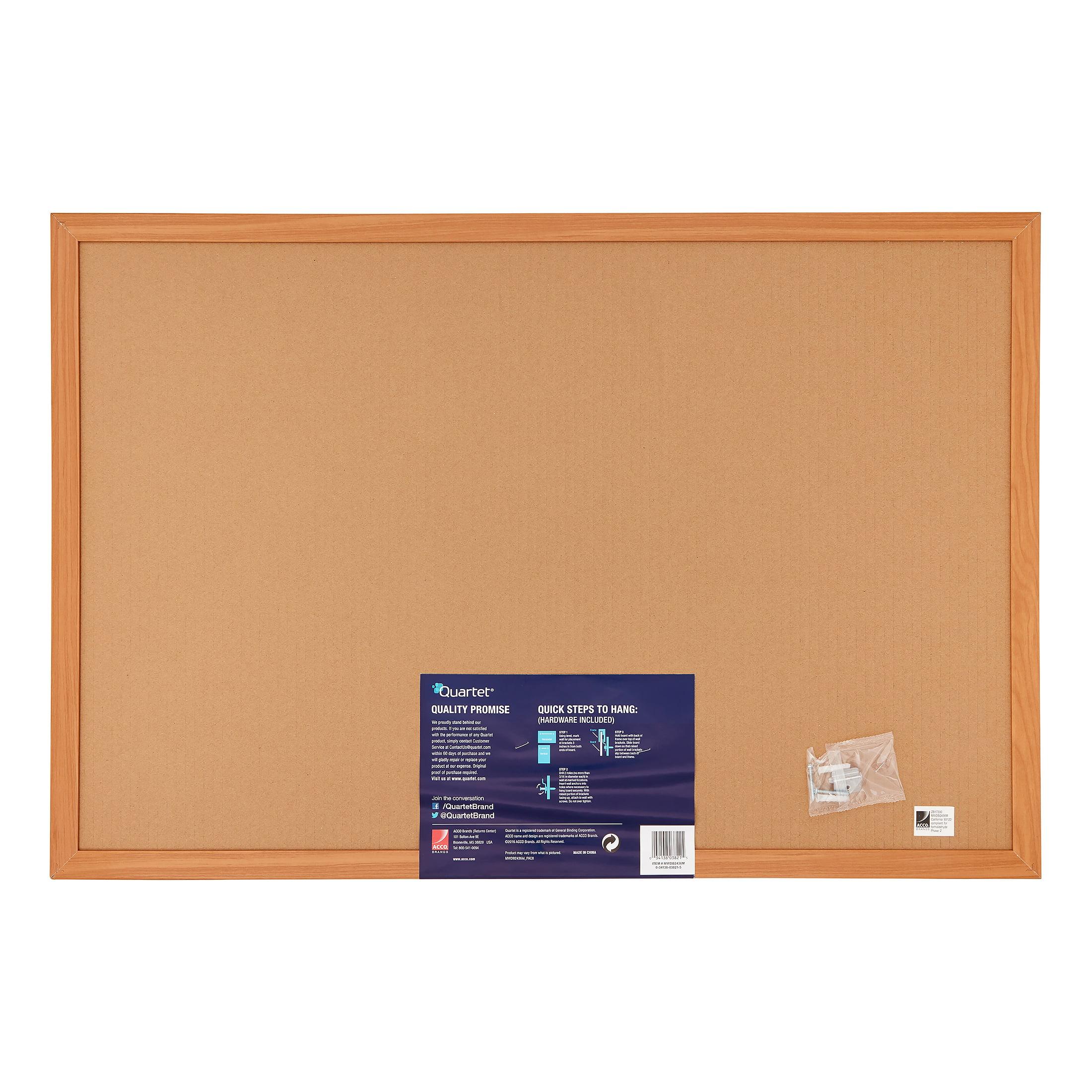 2 X Cork Board Bulletin Board in Wooden Frame 50x70 CM NEW