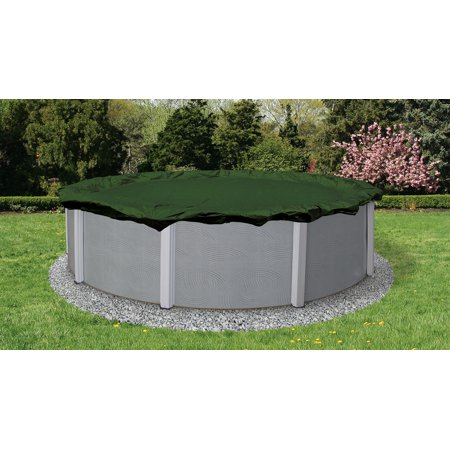 Blue Wave Silver 12-Year 15-ft Round Above Ground Pool Winter Cover