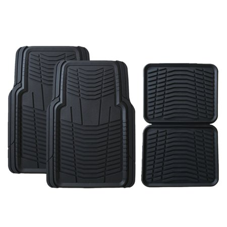 Truck Floor Mats >> Member S Mark All Weather Automotive Floor Mats 4 Pk Black