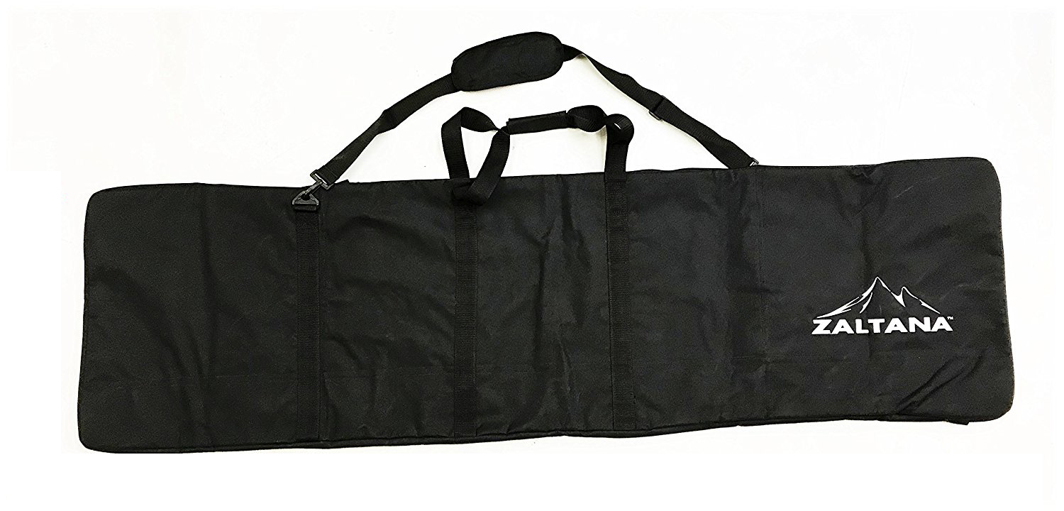 "Zaltana SKB20 Padded Snowboard Carier Bag Rack Holds ( 18""x64"" ), Black by Zaltana Camping"