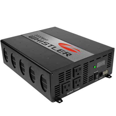 The Whistler Group XP2000i Inverter, 2000W, 12V, Hardwired