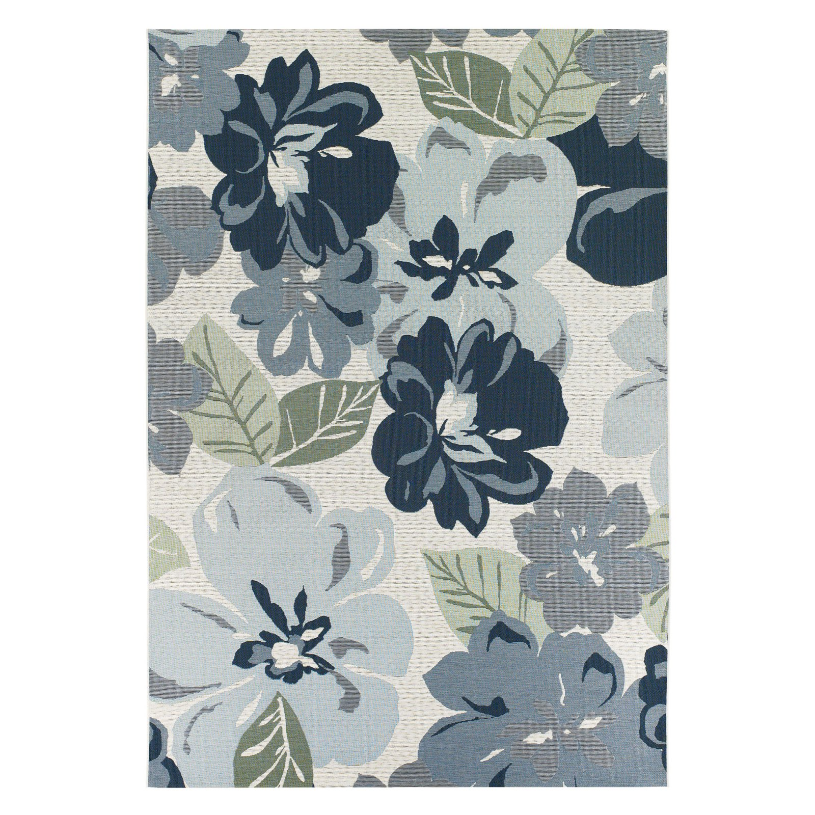 Couristan Dolce Novella Indoor/Outdoor Rug, Gray