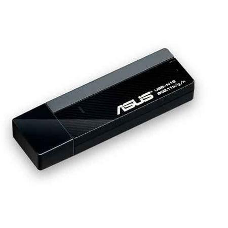 Asus USB-N13 Wireless-N USB Adapter IEEE 802.11b/g/n USB 2.0 Up to 300Mbps Wireless Data Rates Asus Wireless Set Up