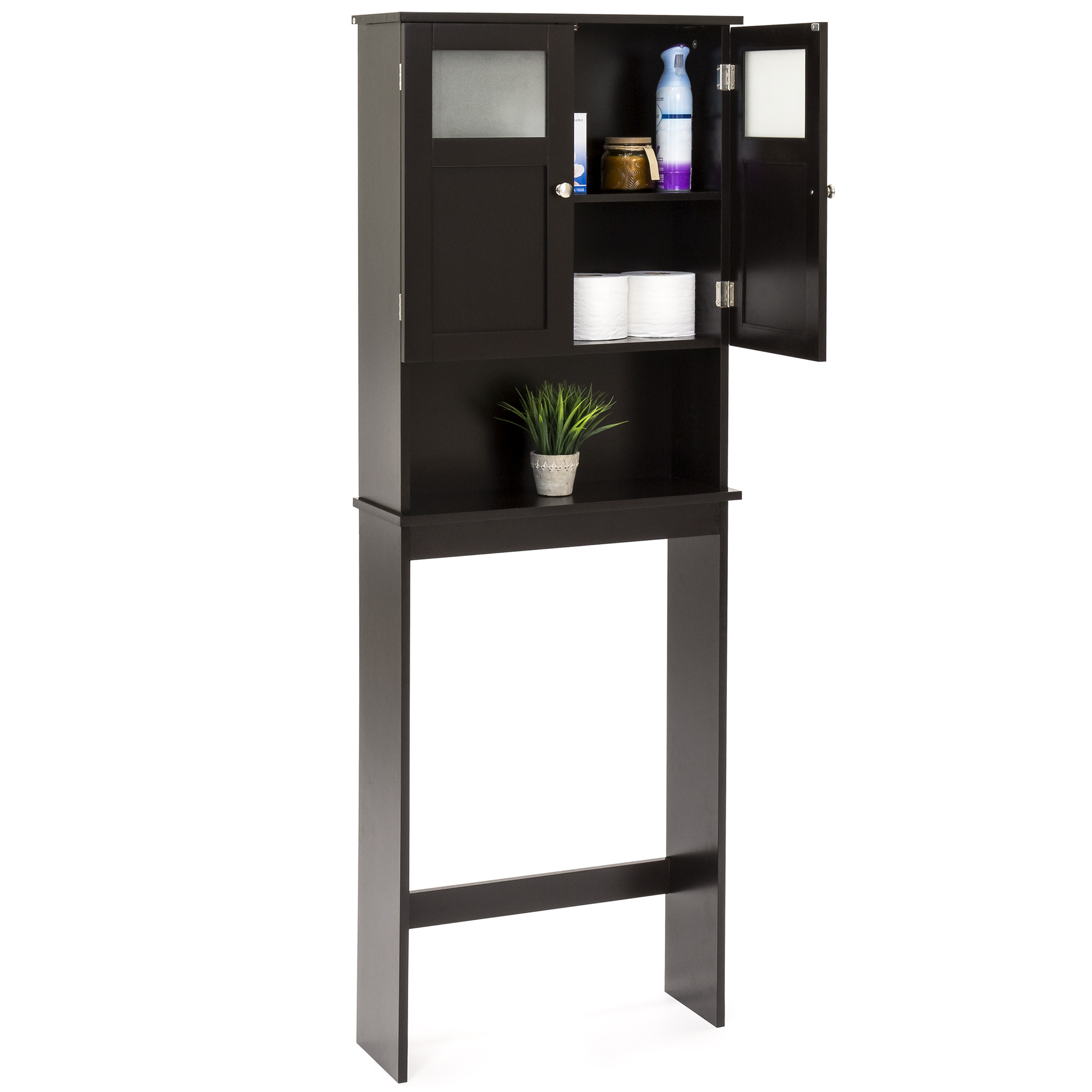 Best Choice Products Bathroom Over-the-Toilet Space Saver Storage Cabinet by Best Choice Products