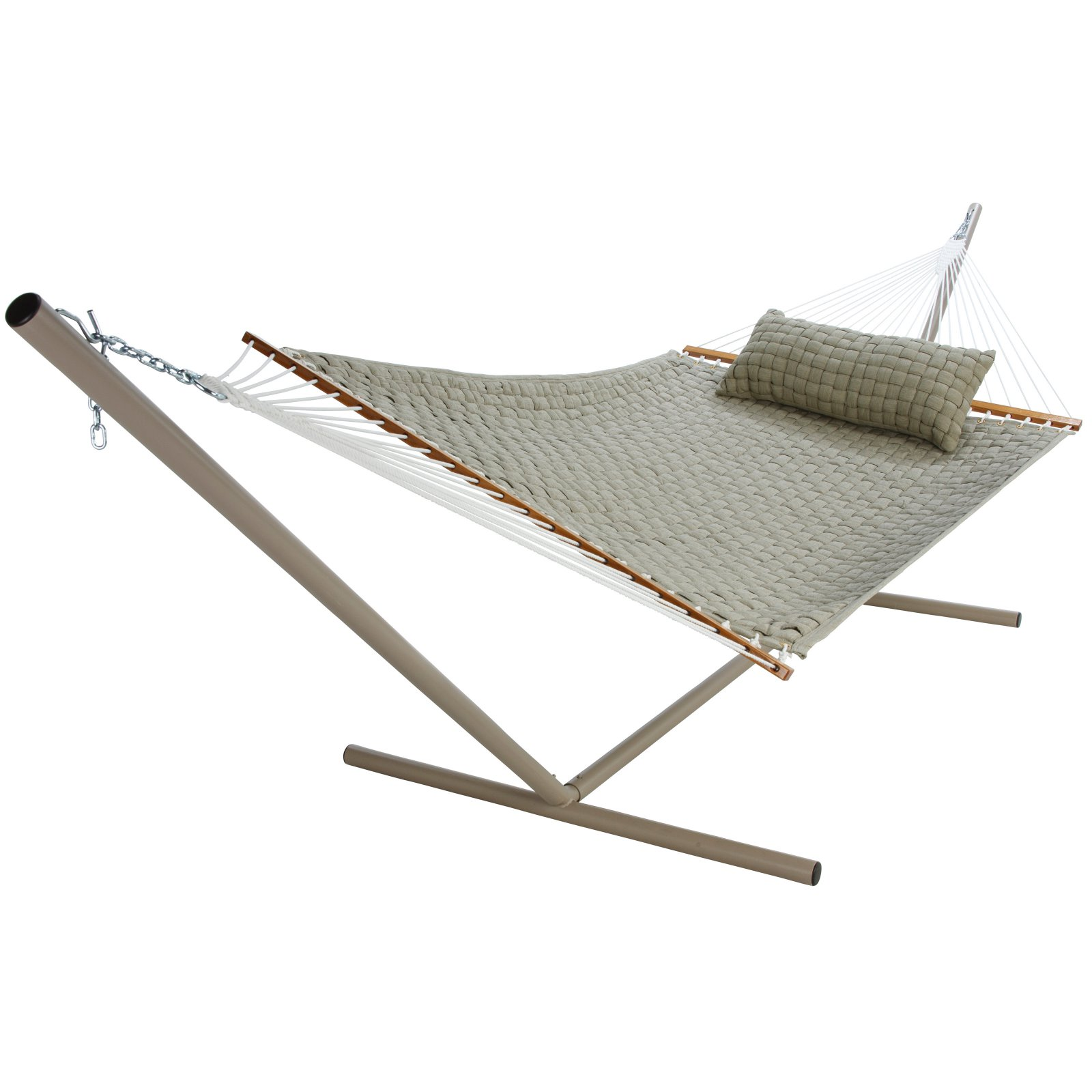 Pawleys Island Flax Large Soft Weave Fabric Double Hammock by Hammock Source, The